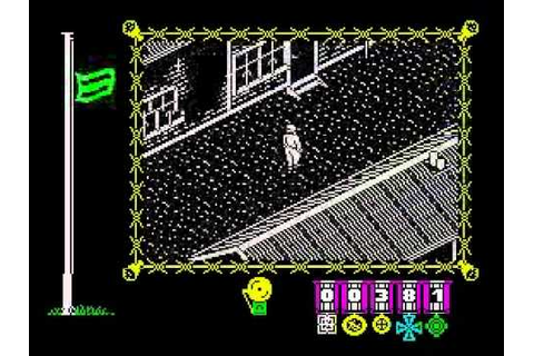 The Great Escape Walkthrough, ZX Spectrum - YouTube