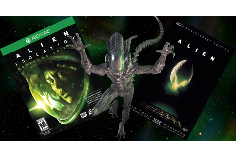 Win With Vamers: ALIEN DVD & ALIEN Isolation Game Bundle