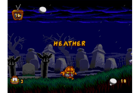 Classic Videogame Hacking: Cheats - Garfield: Caught in ...