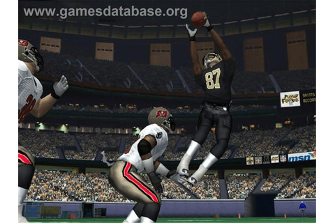 NFL Fever 2004 - Microsoft Xbox - Games Database
