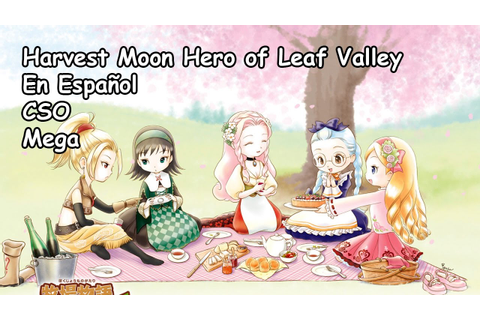 Descargar Harvest Moon Hero of Leaf Valley PSP en Español ...