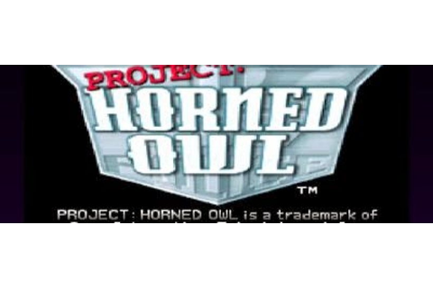 Project Horned Owl PSX Iso - Download Game PS1 PSP Roms ...