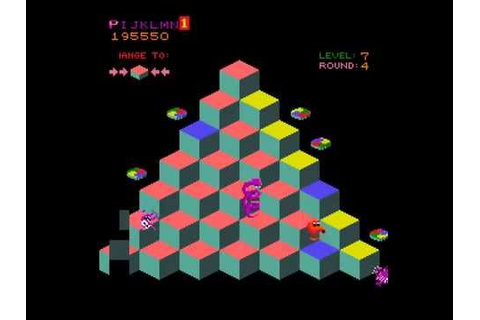 Arcade Game: Q*bert (1982 Gottlieb) - YouTube