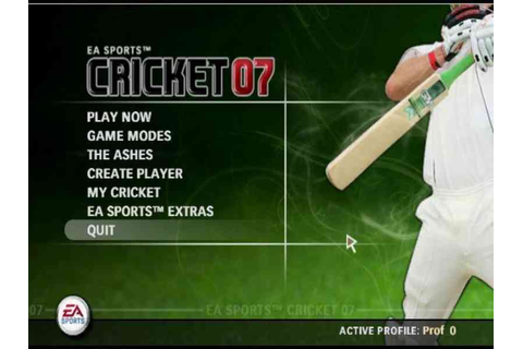 EA Cricket 07 Game Download Free For PC Full Version ...