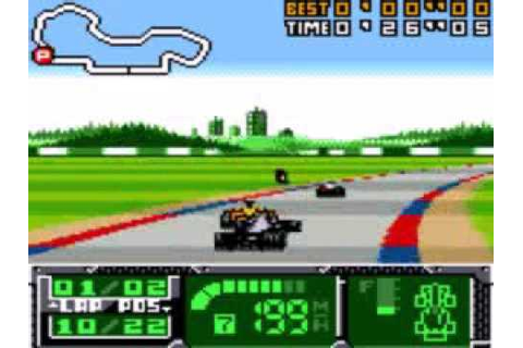 GBC F1 World Grand Prix II for Game Boy Color - YouTube
