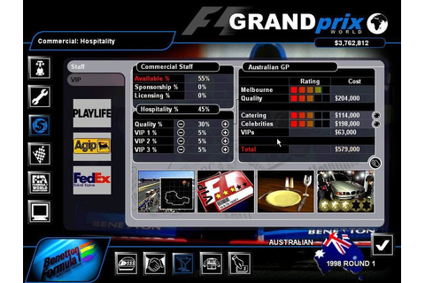 Grand Prix World - PC Review and Full Download | Old PC Gaming