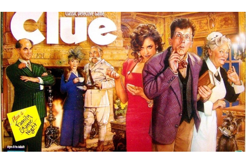 Clue Characters: Famous Board Game Clue Characters You ...