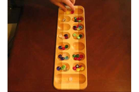 Mancala - The African Stone Game - YouTube