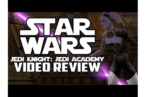 Star Wars Jedi Knight: Jedi Academy PC Game Review - YouTube