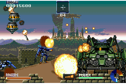 Super Adventures in Gaming: Ranger-X (Genesis/Mega Drive)