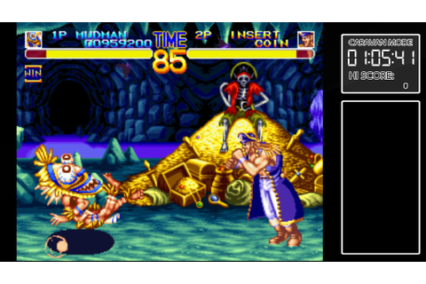 ACA NeoGeo World Heroes 2 for Xbox One review: Battle ...