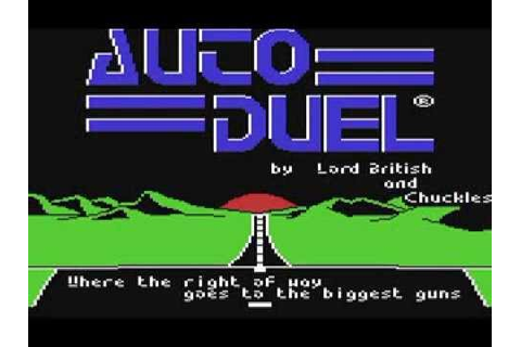 Commodore 64: Autoduel game ending by Origin Systems - YouTube