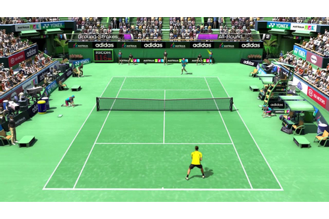 Novak Djokovic vs Roger Federer (Virtua Tennis 4 - PC ...