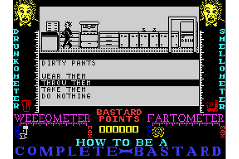 How to be a Complete Bastard (1987) by Sentient Software ...
