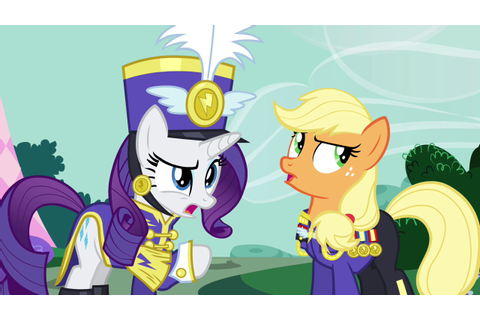 Image - Rarity and Applejack arguing S4E21.png - My Little ...