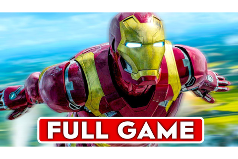 IRON MAN Gameplay Walkthrough Part 1 FULL GAME [1080p HD ...
