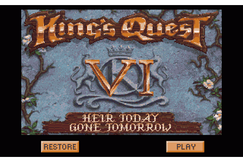 King's Quest VI: Heir Today, Gone Tomorrow (1994) by ...