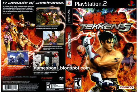 Tekken 5 Playstation 2 Game Download - Gamesbox1