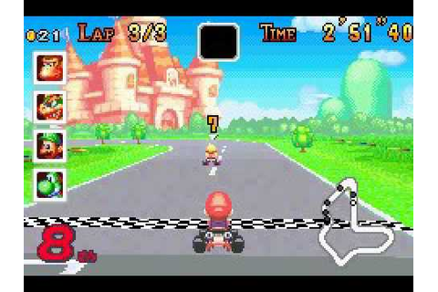 Mario Kart Super Circuit - Game Over - YouTube