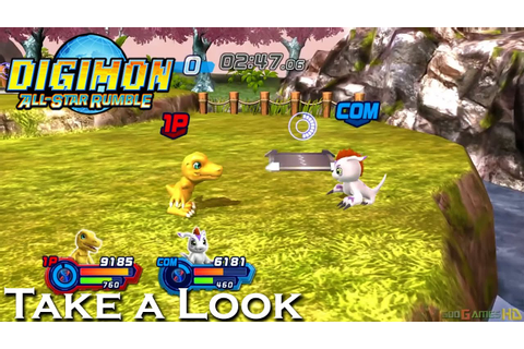 Digimon All-Star Rumble - X360 PS3 Gameplay (XBOX 360 720P ...