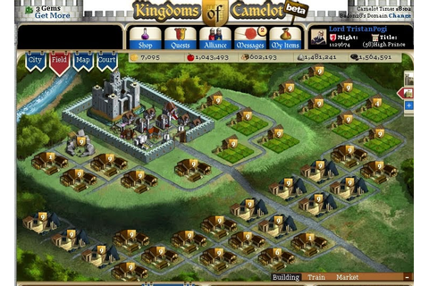 Games Uplink!: Kingdoms of Camelot also known as KOC