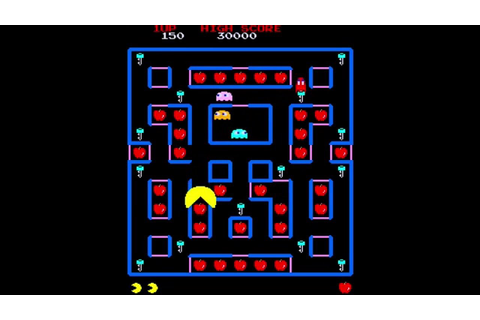Super Pac-Man Gameplay (MAME) - YouTube