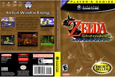 Games Covers: Legend Of Zelda - The Wind Waker - GameCube