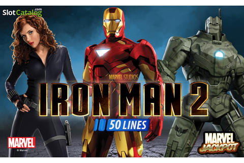 Review of Iron Man 2 50 Lines (Video Slot from Playtech ...