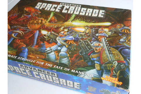 Advanced Space Crusade Arrives... Sort Of | Always Board ...