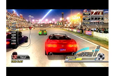 SEGA Race TV (2008) ALL Courses Playthrough (60 FPS) SEGA ...