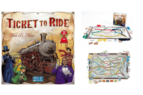 Ticket to Ride Strategy Board Game Only $27.59 Shipped ...