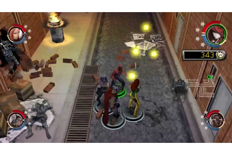 Marvel Ultimate Alliance 2 psp gameplay - YouTube
