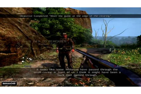 Cabela's Outdoor Adventures 2010 Gameplay (PC HD) - YouTube