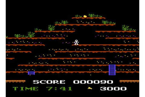 Game review: CBS Electronics Mountain King for #Atari 5200