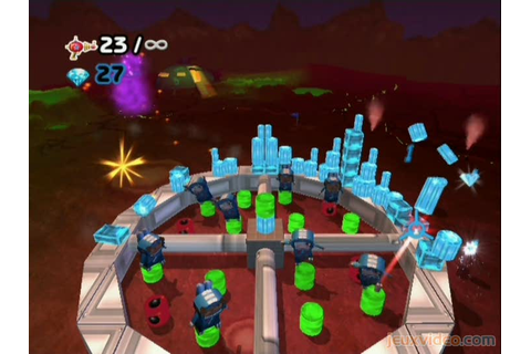 Gameplay Boom Blox Smash Party : Le pistolet laser ...
