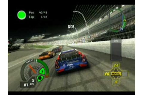 NASCAR 07 Xbox Gameplay - YouTube
