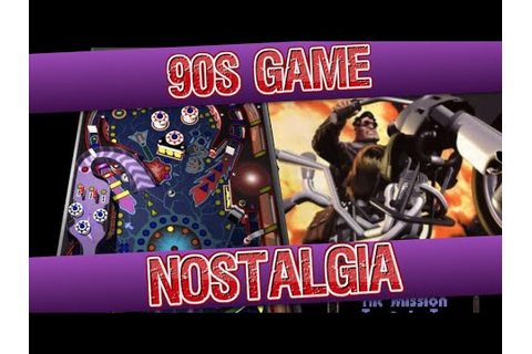 90s Game Nostalgia - YouTube