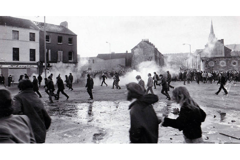 Bloody Sunday: The Violent 1972 Clash In 33 Graphic Images