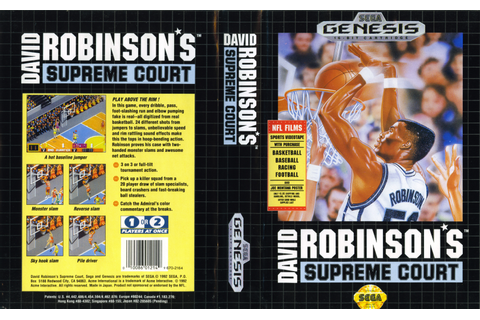 David Robinson - The Greatest NBA Players in Video Game ...