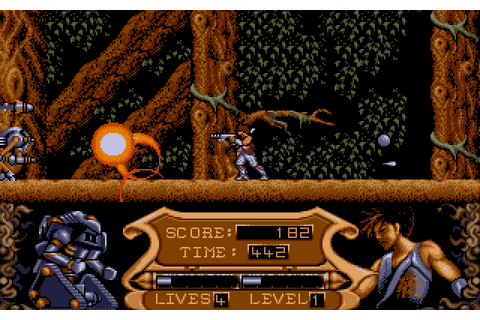 Strider II (1990) by Tiertex Amiga game
