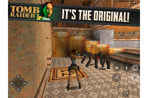 Original Tomb Raider game swings into action on iPhone and ...