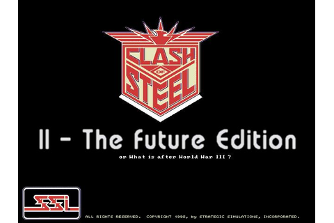 Clash of Steel: Future Edition Download (1995 Strategy Game)