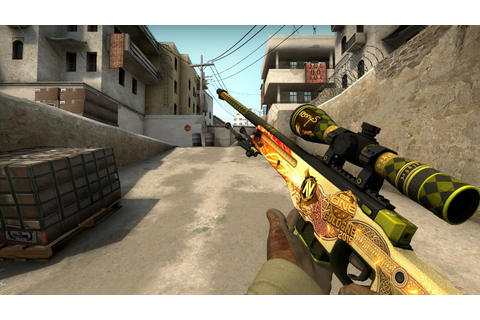 How rare is the KennyS Souvenir Dragon Lore really ...