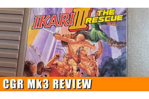 cool Basic Game Area - IKARI III: THE RESCUE critique for ...