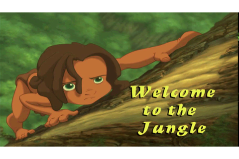 Disney's Tarzan - Part 1 - Welcome To The Jungle (PS1 ...