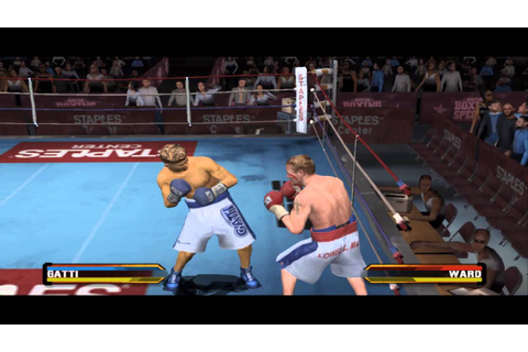 Fight Night Round 3 - Gatti Vs Ward Gameplay (PC - PS2 ...