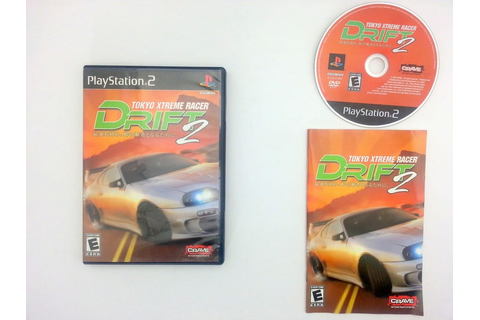 Tokyo Xtreme Racer Drift 2 game for Sony Playstation 2 PS2 ...