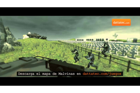 CSS Mapa de Malvinas para Counter Strike - YouTube