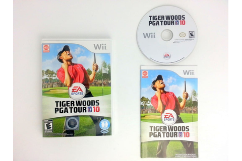 Tiger Woods PGA Tour 10 game for Wii (Complete) | The Game Guy