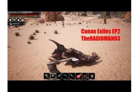 "Conan Exiles EP2 ""Iron/Coal/Feather Hunt"" - YouTube"